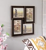 New Era Brown MDF 14.25 x 14.25 Inch Collage Photo Frame