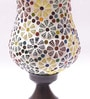 Multicolour Metal & Glass 7 x 4.5 x 10 Inch Table Lamp by New Era