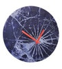 Nextime Multicolour Glass 11.8 Inch Round Crash Wall Clock