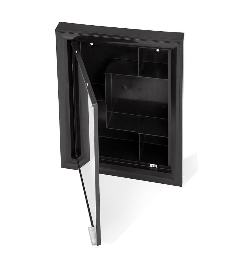 Nilkamal Gem Mirror Cabinet Black By Nilkamal Online Bathroom Cabinets Bathroom Cabinets