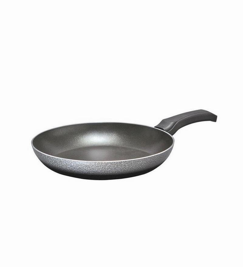 Nirlep Black Aluminium 700 Ml Fry Pan