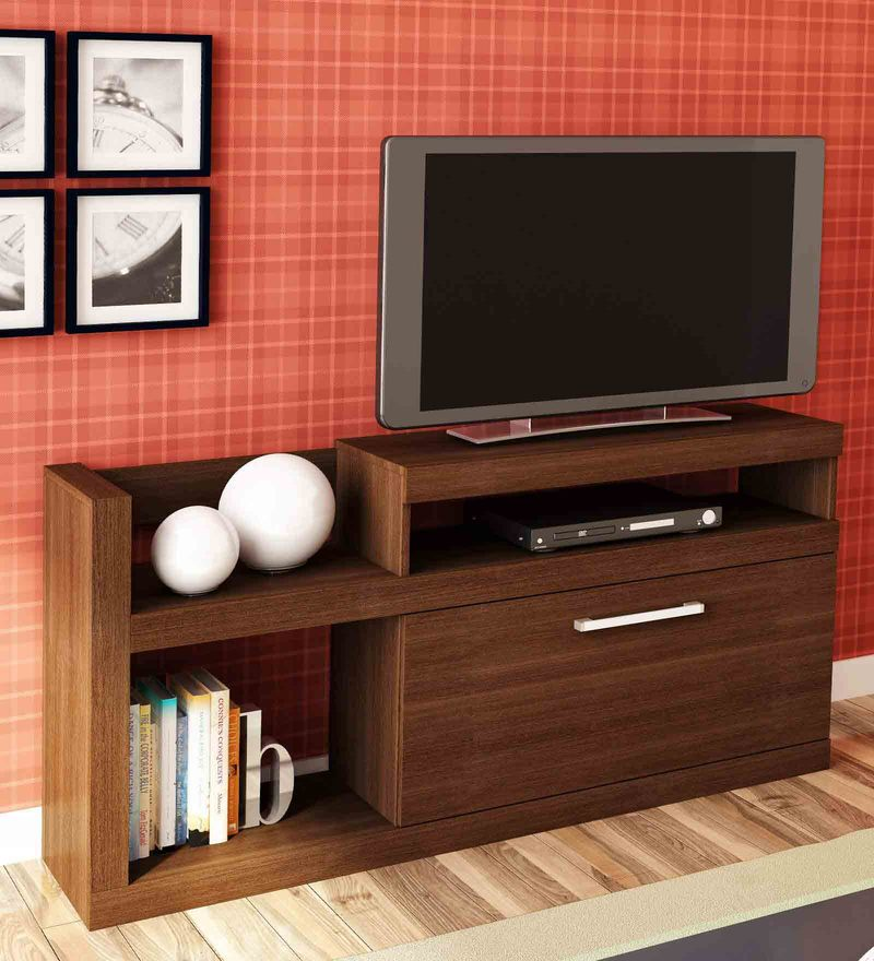 Nishi Entertainment Unit in Tobacco Finish by Mintwud