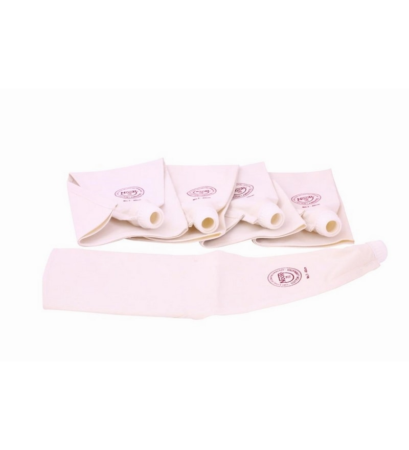 Noor off White Cake Decoration Cotton Icing Bag - Set of 5
