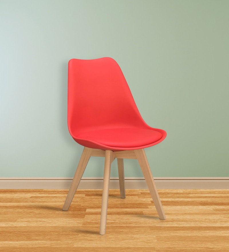 Nordic Chair in Red Colour by Alex Daisy