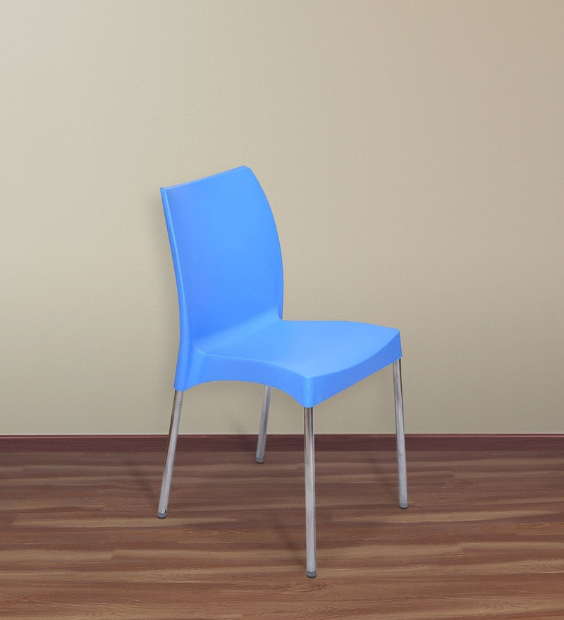Novella 07 Chair in Blue Colour by Nilkamal