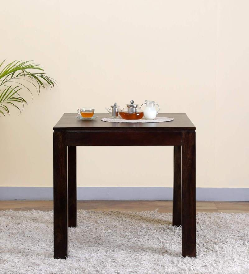 Oakland Four Seater Dining Table in Warm Chestnut Finish by Woodsworth