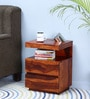 Oakville Bedside Table in Honey Oak Finish by Woodsworth