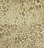 Beige & Brown Wool 60 x 96 Inch Cheetah Carpet by Obeetee