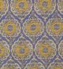 Ivory & Purple Viscose & Cotton Yarn 96 x 60 Inch Saara Dhurrie by Obeetee