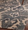 Ivory Cotton 96 x 60 Inch Printed Carpet by Obeetee