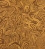 Rust Wool 60 x 96 Inch Concentric Carpet by Obeetee