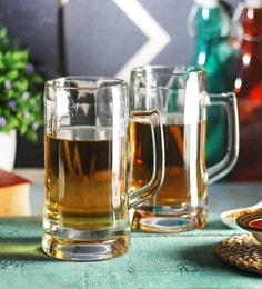 Ocean Munich 640 ML Beer Mugs - Set Of 6