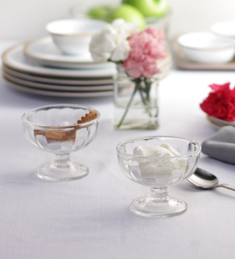 Ocean Alaska Glass 205 ML Ice Cream Cup - Set of 6