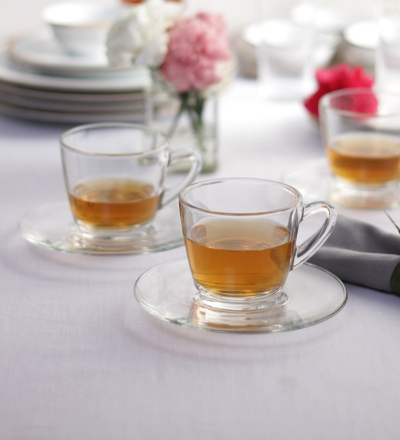 Ocean Kenya 12-piece Cup and Saucer Set