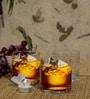 Ocean Rock Pyramid 380 ML Whisky Glasses - Set of 6