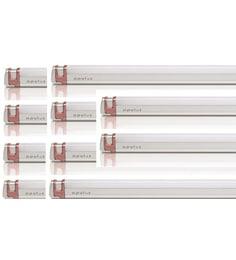 Opulus Led 20 Watts Cool White Fancy Aluminiumtube Light - Pack Of 10