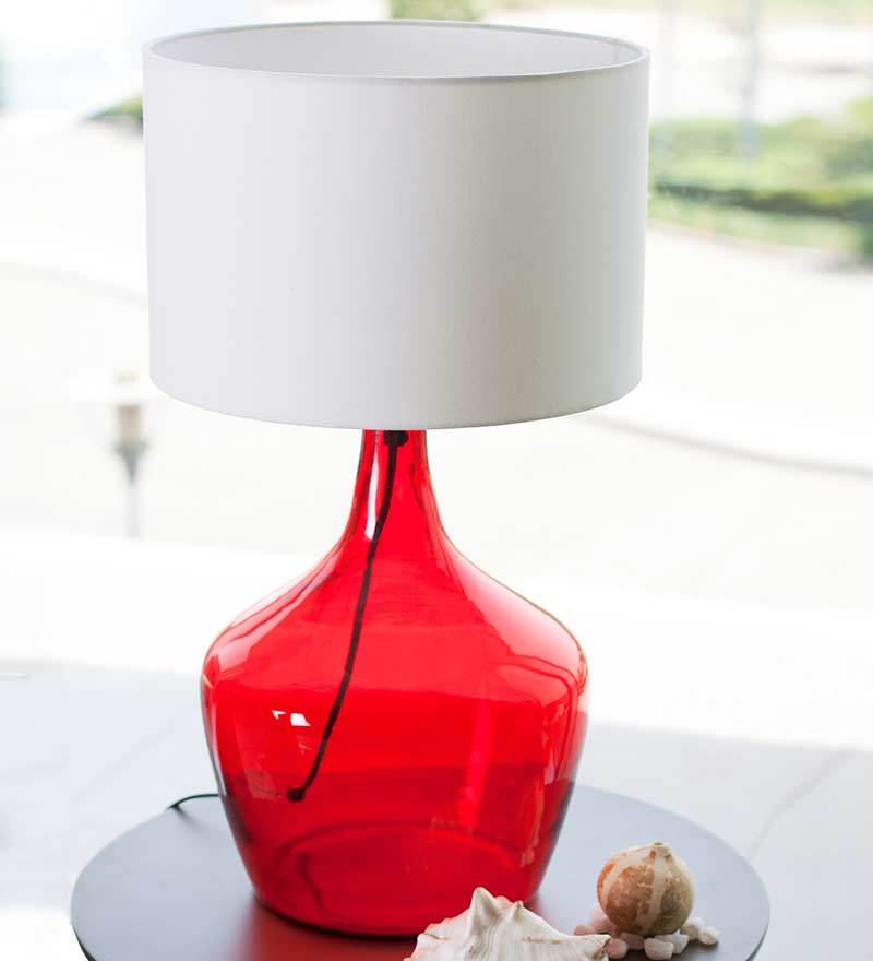 Monarch Table Lamp - Red by Orange Tree