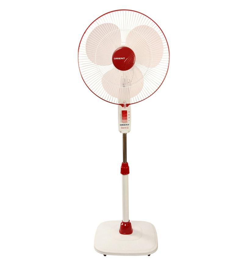 Orient 400 MM Crimson Red Pedestal Fan