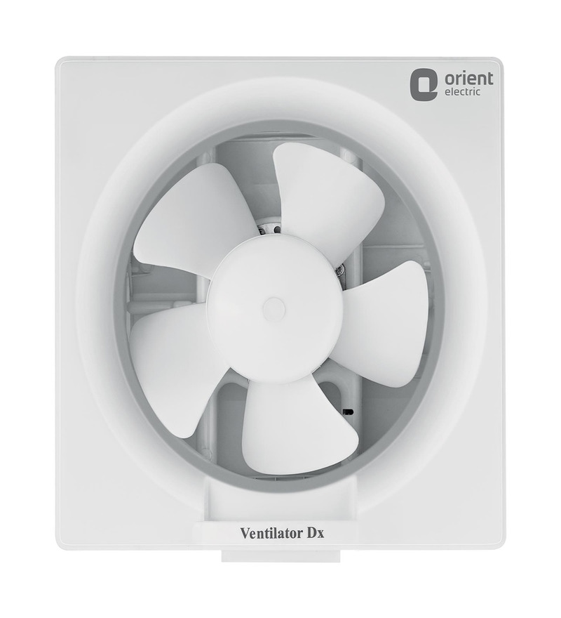 Orient Deluxe White 10 Inch 250 MM White Exhaust Fan