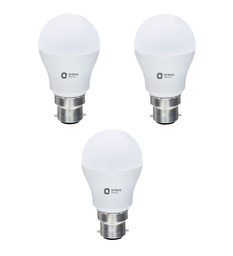 Orient Eternal Shine White 12W LED Bulbs - Set of 3