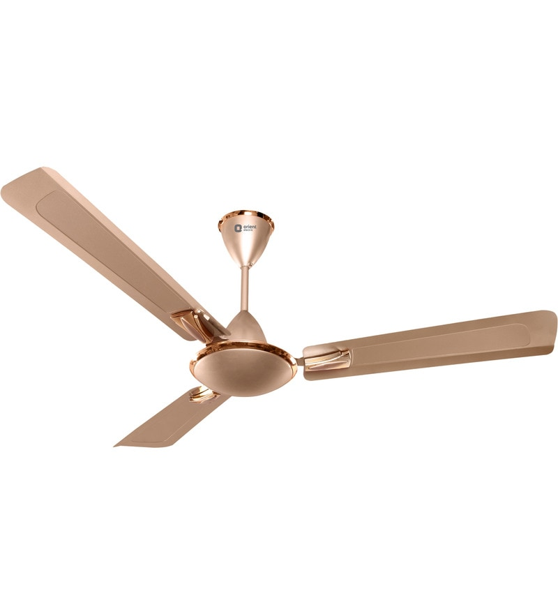 Orient Gratia 1200 mm Topaz Gold Ceiling Fan