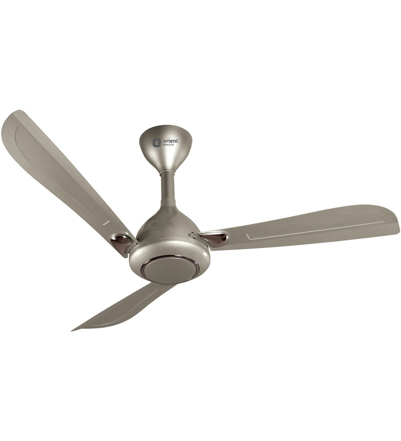 Orient Oprah Winter Pearl & Antique Copper 1200mm Designer Ceiling Fan