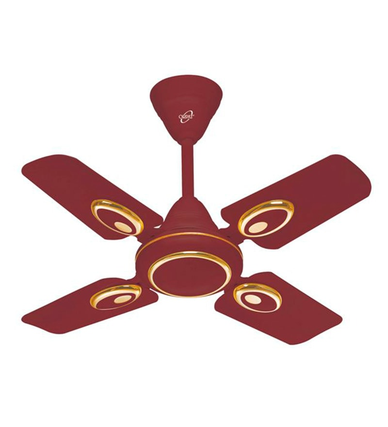 Orpat Air Fusion 600 mm Brown Ceiling Fan