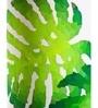 Green & White Cotton Rokko Floor Lamp by Orange Tree