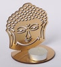 Orlando's Decor Copper MDF Buddha Tea Light Holder