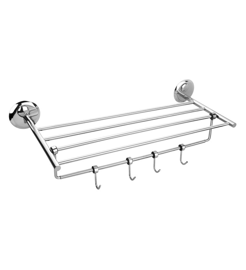 Osian Creta Series Glossy Stainless Steel Towel Rack