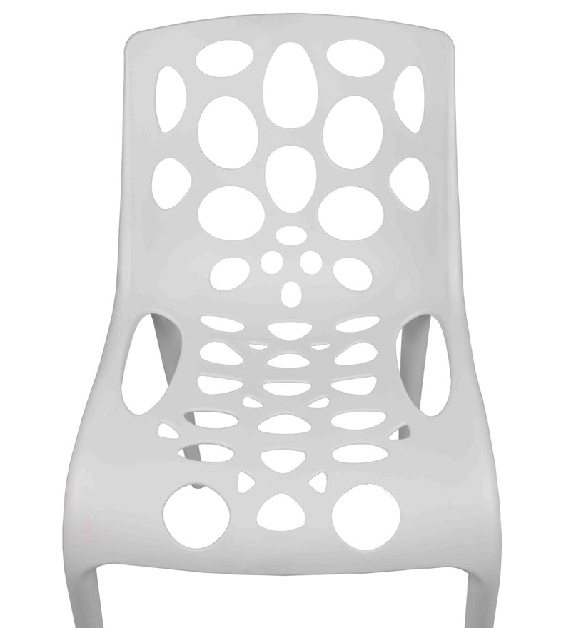 Buy OutDoor Chair in White Colour by Ventura Online ...