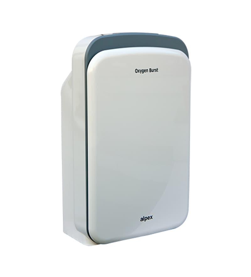 Oxygen Burst Portable Room Air Purifier (White & Grey)