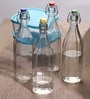 Bormioli Rocco Oxford 1000 ML Glass Bottle with Lid