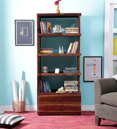Hudson Book Shelf In Provincial Teak Finish