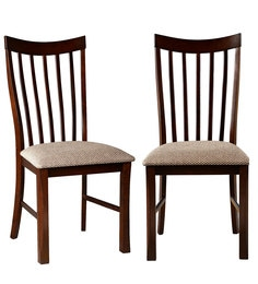 Parker Dining Chair (Set Of 2) In Brown Colour By HomeTown