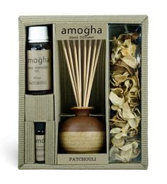 Patchouli Fragrance Gift Set With Diffuser