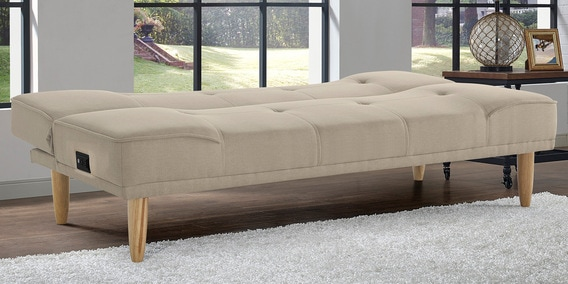 Pablo Sofa Bed With Power Outlet