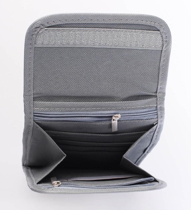 ce3e2c14109 Buy Packnbuy Fabric Grey Sling Travel Passport Organiser Online ...