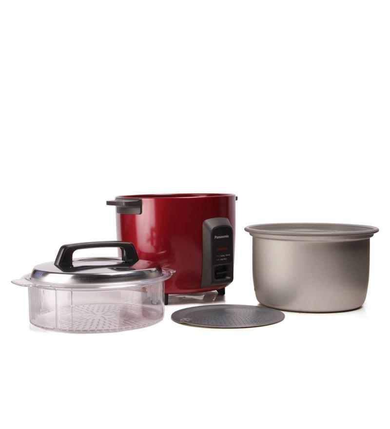 Buy Panasonic Sr Y22fhs Rice Cooker Burbundy Online