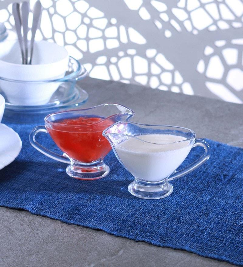 Pasabahce Glass Basic Sauce Bowls - Set of 2