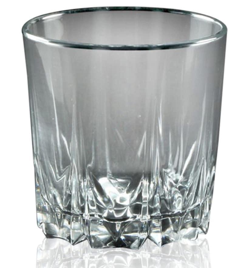 Pasabahce Karat 300 ML Whisky Tumbler Glasses - Set of 6