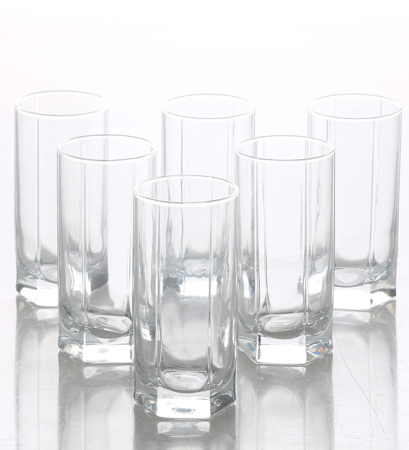 Buy Pasabahce Tango 290 Ml Whisky Rock Glasses Set Of 6
