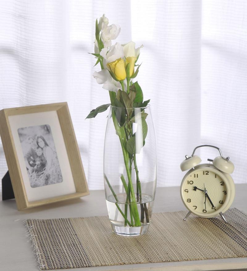 Transparent Glass Flora Vase by Pasabahce