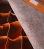 Fabric Orange 24-Compartments Clothes Organiser by PackNBUY