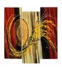 Panash Art Ply Wood 10 x 0.3 x 30 Inch Sand Art Panel - Set of 3