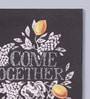 Pannaa Canvas 10 x 1 x 12 Inch Come Together Framed Poster