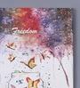 Pannaa Canvas 10 x 1 x 12 Inch Freedom Framed Digital Art Print