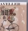 Pannaa Canvas 12 x 1 x 10 Inch Traveller Framed Poster