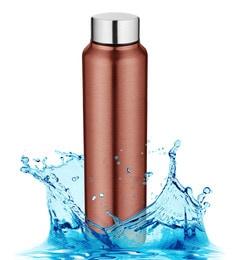 Pexpo Chromo Series Ideale Pink Stainless Steel 1 L Elegant Water Bottle