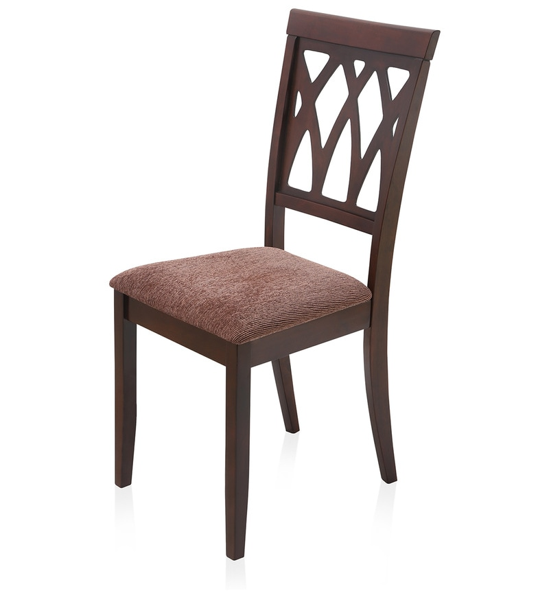 Buy Peak Dining Chair In Brown Colour By @Home Online